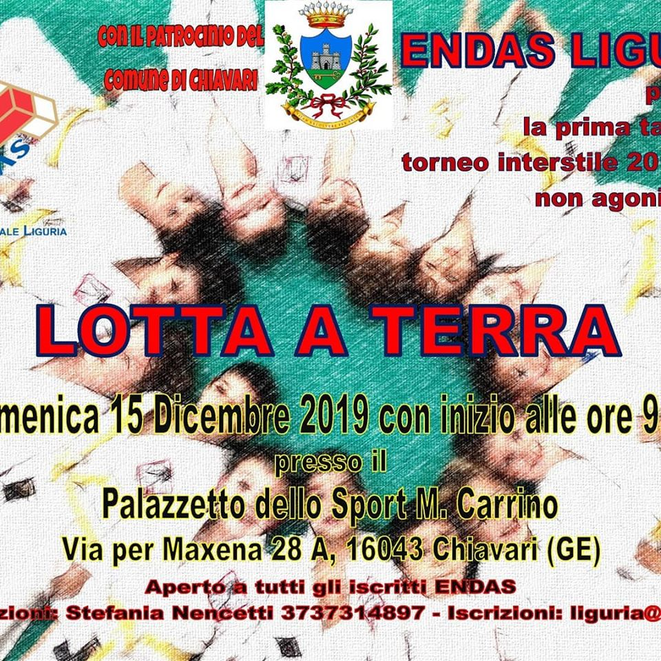Incontro Lotta a Terra 15/12/2019 Chiavari